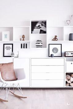 living room storage inspiration