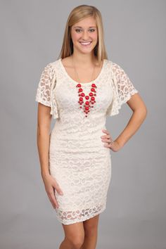 a more casual lace dress. Love. This site is modest and reasonable?? Awesome.