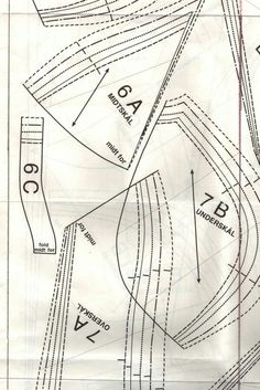 How to sew a bra Pdf Sewing Patterns, Clothing Patterns, Bra Chart, Corset Underwear, Sewing Bras, Diy Bra, Corset Pattern, Lingerie, Love Sewing