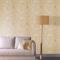 Arthouse Orabella Tree Glitter Wallpaper - Gold - http://godecorating.co.uk/arthouse-orabella-tree-glitter-wallpaper-gold/