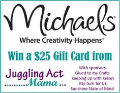 Juggling Act: $25 Michael's Gift Card Giveaway