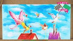 Le gare degli animali stile teatrino! Gareggiano i volatili! Cartoni animati con gli animali! Le gare di corsa. Sono tornate le gare di corsa! Il teatro dei piccoli è di nuovo aperto per ospitare un grande spettacolo, el gare di corsa fra gli animali dei cieli #cartonianimati #bambini #animali