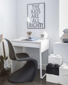 Stylish Black And White Boys Room Design   Kidsomania