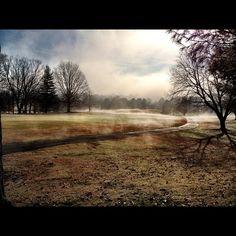 Fog on the Fox Den Country Club Golf Course (3rd Hole)