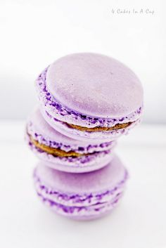 purple macarons (jazrul fuad on flickr)