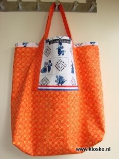 handmade bag by Kloske!