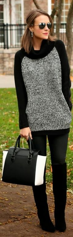 Back To Black by Penny Pincher Fashion via @Helen Palmer Palmer Palmer Kinn