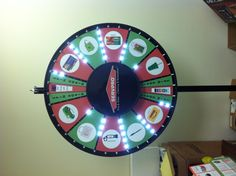 Our new prize wheel! Take a spin and see what you win!
