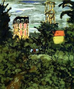 Edouard Vuillard | Near Paris, 1900
