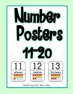 ten frame poster   11-20
