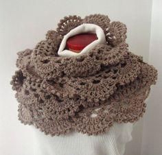 lace edge scarf