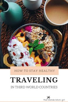 How to stay healthy and fit when you're traveling Guide to being fit when traveling easy practices to staying fit when you travel. how you can stay fit in third world countries Ways To Be Healthier, Ways To Stay Healthy, Tulum Tours, Travel Advice, Travel Hacks, Travel Tips, Third World Countries, Travel Workout, Health And Fitness Tips