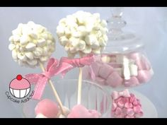 CAKEPOPS! Decorate a Marshmallow Cloud Cake Pop - A Cupcake Addiction How To Tutorial - YouTube