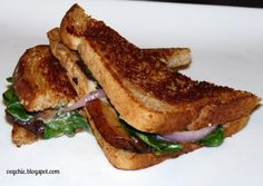 Spicy Smoky Toasty Cheeze Sandwiches #vegan