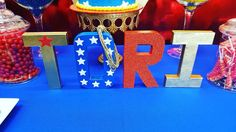 Wonder Woman Birthday Party Ideas | Photo 4 of 9