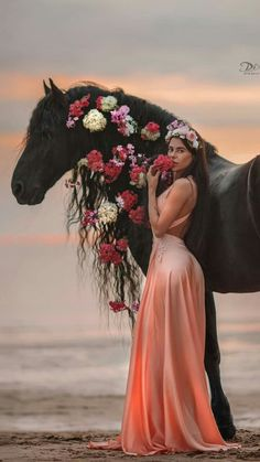 Horse Girl, Bridesmaid Dresses, Wedding Dresses, Curls, Horses, Formal Dresses, Creatures, Woman, Art