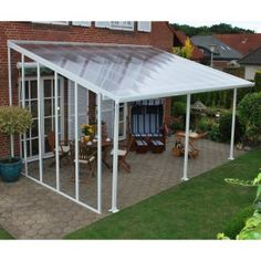 Palram Feria Patio Cover 10 ft. Sidewall Kit - Greenhouse Supplies at Hayneedle