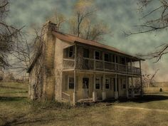 The Old Cotter House, Missouri Ozarks    photographed by Sue of Country Pleasures