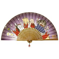 Studio Ghibli Spirited Away Japanese Folding Fan SENSU from Japan #Benelic