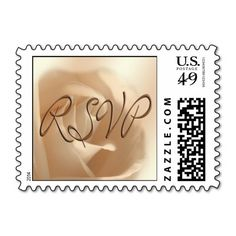 RSVP Wedding Postage Stamp small