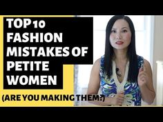 Every short girl should avoid these 10 mistakes in their fashion choices and build a wardrobe flattering to petite body frame. Petite Fashion Tips, Petite Outfits, Petite Dresses, Curvy Fashion, Fashion Bloggers, Fashion Advice, Fall Fashion, Style Fashion, Fashion Trends
