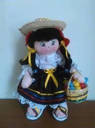 Resultado de imagen para muñecas tipicas colombianas