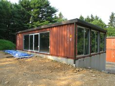 adam kalkins old lady house shipping container home | container