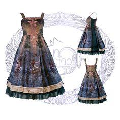 FunCcino -Ragnarok- Lolita Jumper Dress