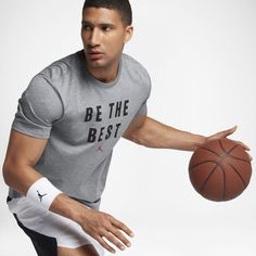 "Jordan Dry ""Beat The Best"" Men's Training T-Shirt, by Nike Size"