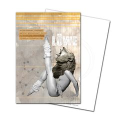 Gruß- und Postkarte: Löwe