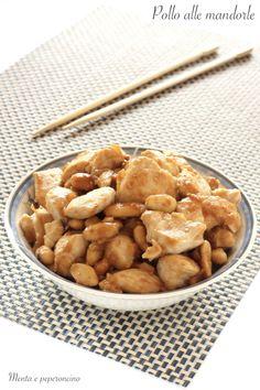 Pollo alle mandorle #pollo  #polloallemandorle #secondopiatto  #cucinacinese #piattocarne