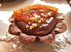 Denny Chef Blog: Crostata con cioccolato amaro, crema d'arancia e cocco