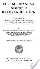 """""""The Mechanical Engineer's Reference Book"""" - Henry Harrison Suplee, 1907, 918"""
