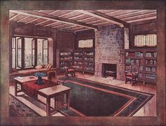 1911 Globe Wernicke Bookcase Ad by American Vintage Home, via Flickr
