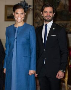 MyRoyals: Tunisian State Visit to Sweden, November 4, 2015-Crown Princess Victoria and her brother Prince Carl Philip