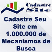 Cadastre Site em 1.000.000 de Mecanismos de Busca
