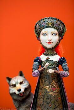 Gulia Alekseeva art doll