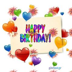 Happy Birthday Gif Images, 16th Birthday Card, Birthday Wishes Greetings, Happy Birthday Wishes Images, Happy Birthday Flower, Happy B Day Images, Happy Birthday Friend, Birthday Blessings, Birthday Wishes Quotes