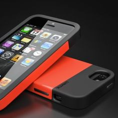 Don't think a one-piece can bring your iPhone 5 more protection? Then you may like to check LUNATIK's FLAK, a dual-layer iPhone 5 case. Iphone 5 Cases, 5s Cases, New Iphone, Iphone 5s, Cool Gadgets, Ipod, Back To School, Smartphone, Apple