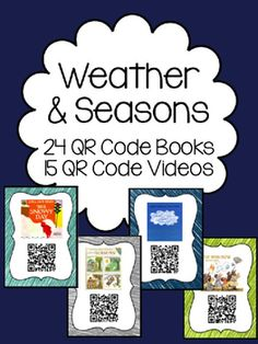Browse over 500 educational resources created by Kindergarten Busy Bees in the official Teachers Pay Teachers store. Weather Kindergarten, Kindergarten Units, Teaching Aids, Teaching Activities, Weather Seasons, Coding For Kids, Teaching Technology, Computer Lab, Qr Codes
