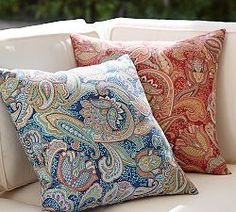 Delicieux Outdoor Patio Pillows, Fabric U0026 All Weather Pillows | Pottery Barn