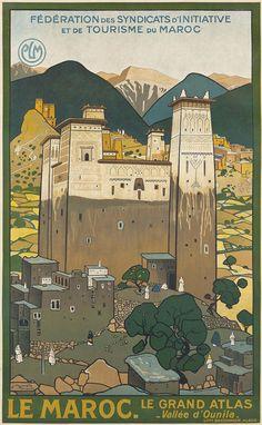 Jacques Majorelle (1886-1962) LE MAROC, 1923