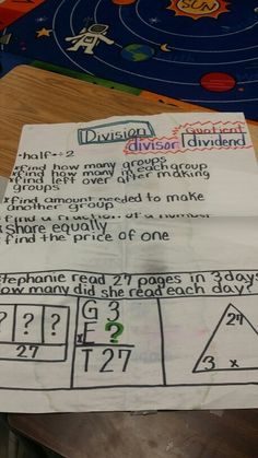 When to divide