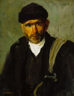 Sailor study by George Bellows