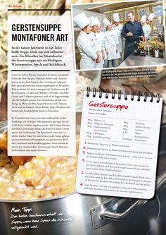 Gerstensuppe Montafoner Art