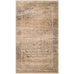 Vintage Warm Beige 2 ft. x 3 ft. Area Rug