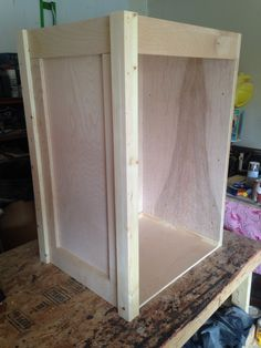 Mobile tack trunk in process...will include 2 saddle racks and flip top lid.