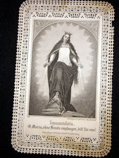 Antique Paper Lace Holy Card Made In Germany by Eklektibles, $10.00