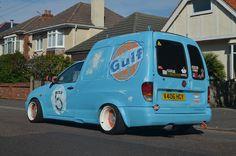 VW Caddy Van Rat-look Signwriting