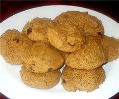 GFCF Pumpkin cookies